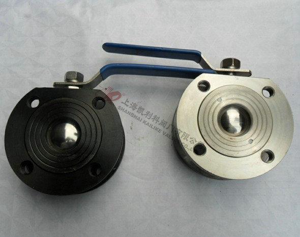 Q71F对夹式薄型球阀