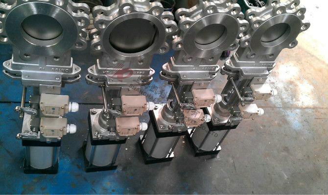 PZ673H、PZ673X气动刀闸阀