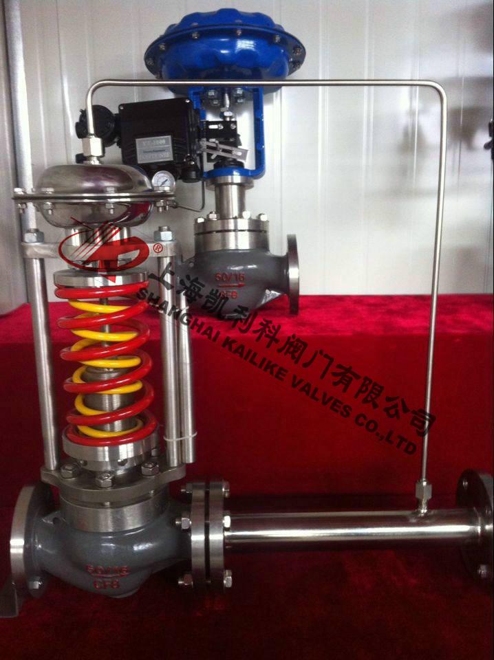 ZZYP自力式蒸汽调节阀