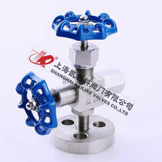 J49H、J49W压力表针型阀