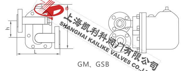 大排量杠杆浮球式疏水阀外形结构图