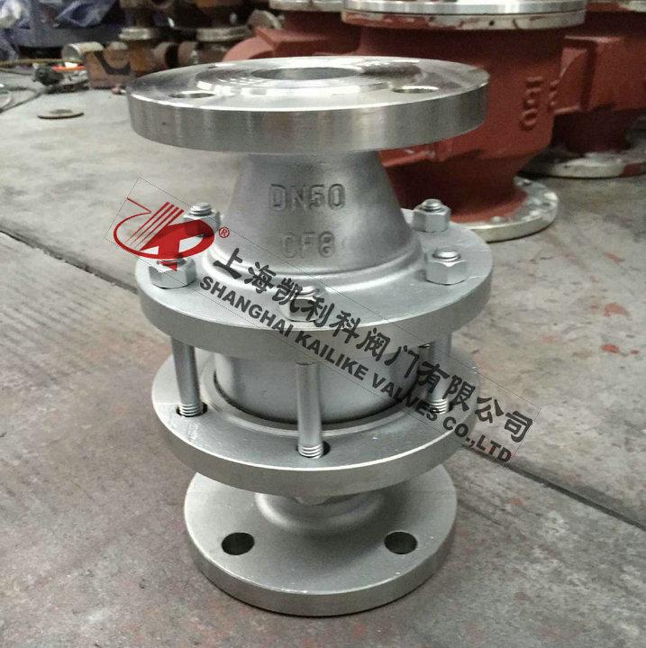 ZHQ-B沼气管道阻火器