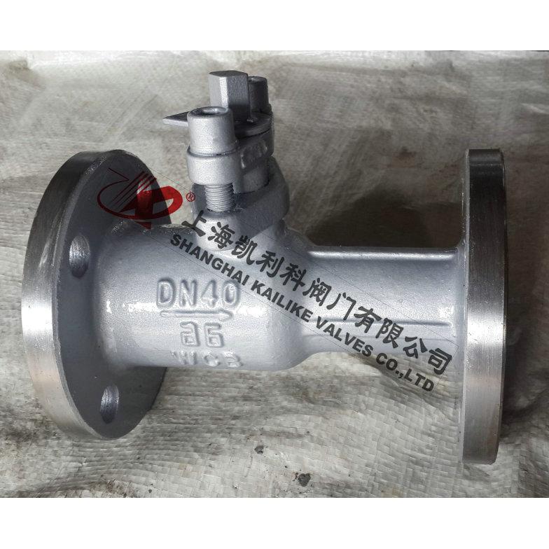 PQ41F、PQ41M一体式排污球阀
