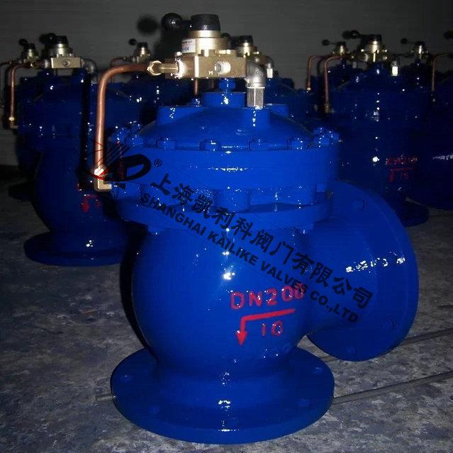 JM744X液动隔膜角式排泥阀