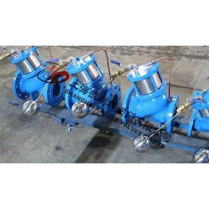 工程案例 多功能水泵控制阀的标准技术规范  h103活塞式遥控浮球阀由图片